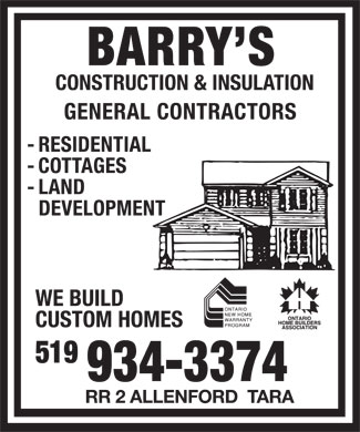 Barry's Construction