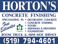 Horton Concrete Finishing